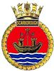HMS Scarborough Badge